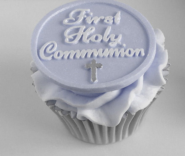 First Holy Communion Cupcakes - Ellam Sugarcraft Moulds For Fondant Or Chocolate