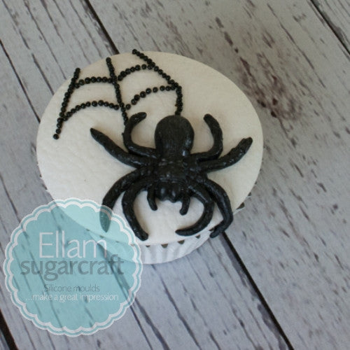 Halloween Spider cupcake - Ellam Sugarcraft cake cupcake craft Moulds For Fondant Or Chocolate