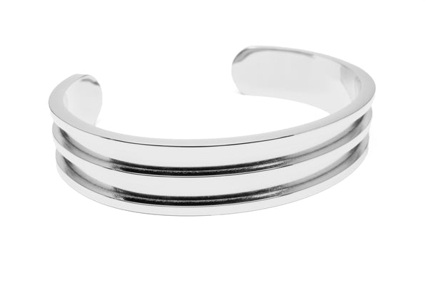 Madison Hair Tie Bracelet Silver