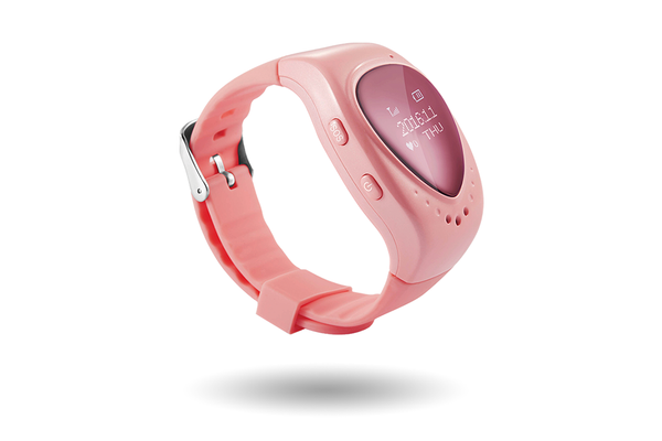 Candy Pink PingMe Watch - PingMe GPS Kids Watch
