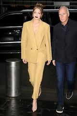 Yellow Mustard Suit
