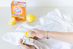 Rub lemon on armpits to get rid of sweat stains
