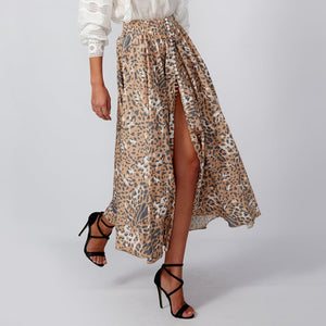ALICE Leopard Print Skirt