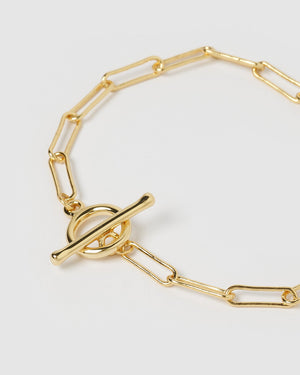 Load image into Gallery viewer, Izoa Bronx Bracelet Gold