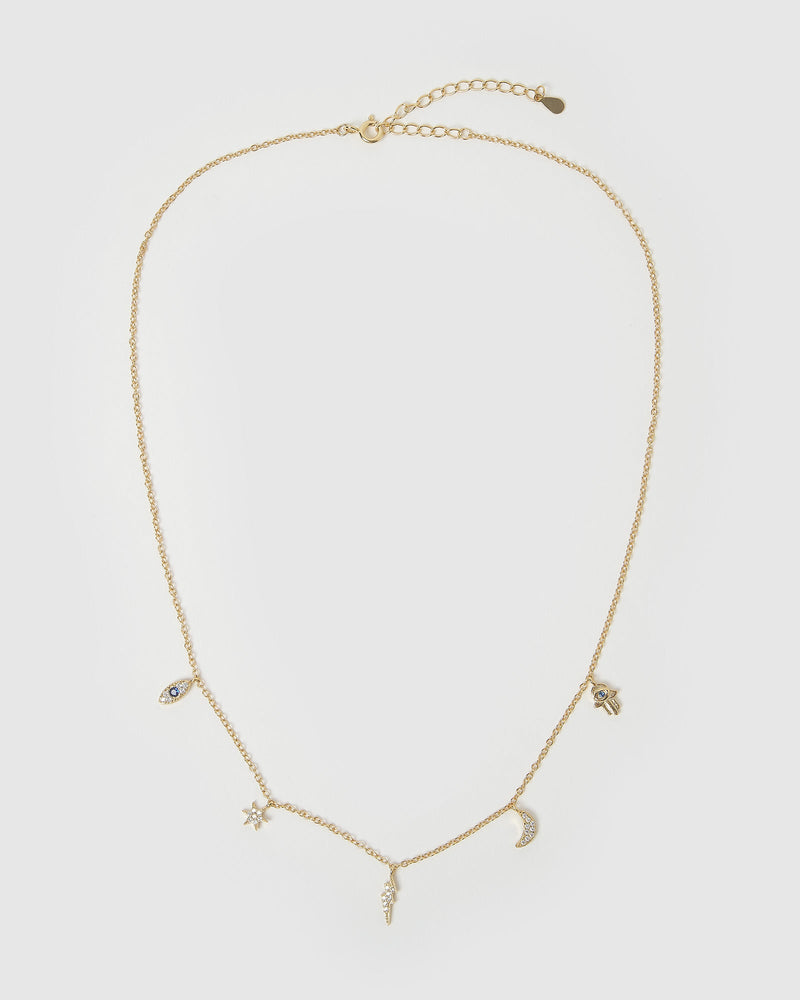 Load image into Gallery viewer, Izoa Chance Choker Necklace Gold
