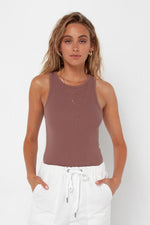 Madison The Label Jaida Tank Top Grape
