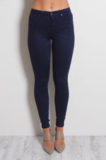 Refuge Denim Navy Sapphire Jean - Gelato Legs (Super Stretch - HIGH RISE)