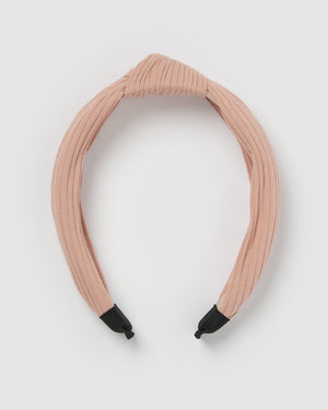 Izoa Manhattan Headband Pink