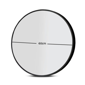 Load image into Gallery viewer, 60cm Frameless Round Wall Mirror