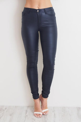 Oil Rigger Jeans in Navy by Refuge