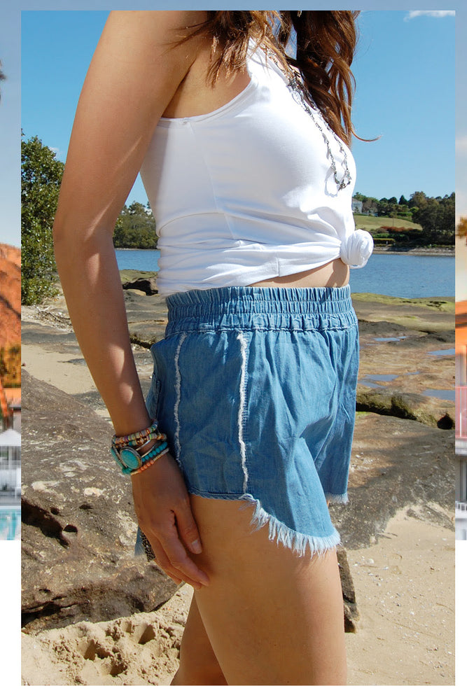 Chambray Refuge Shorts