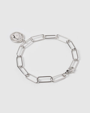 Load image into Gallery viewer, Izoa Token Bracelet Sterling Sterling Silver