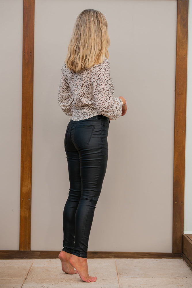 Load image into Gallery viewer, Country Denim Australia Black Wax Jean - Full Length Skinny