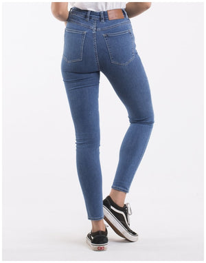 Load image into Gallery viewer, Silent Theory VICE HIGH SKINNY LEG JEAN BLUE BELL