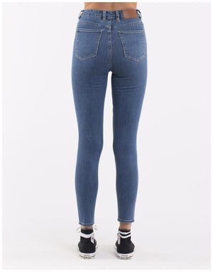 Silent Theory VICE HIGH SKINNY JEAN BLUE BELL Denim
