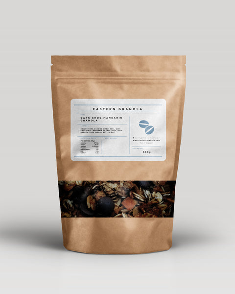 Mandarin Orange and Dark Choc Granola // 500g