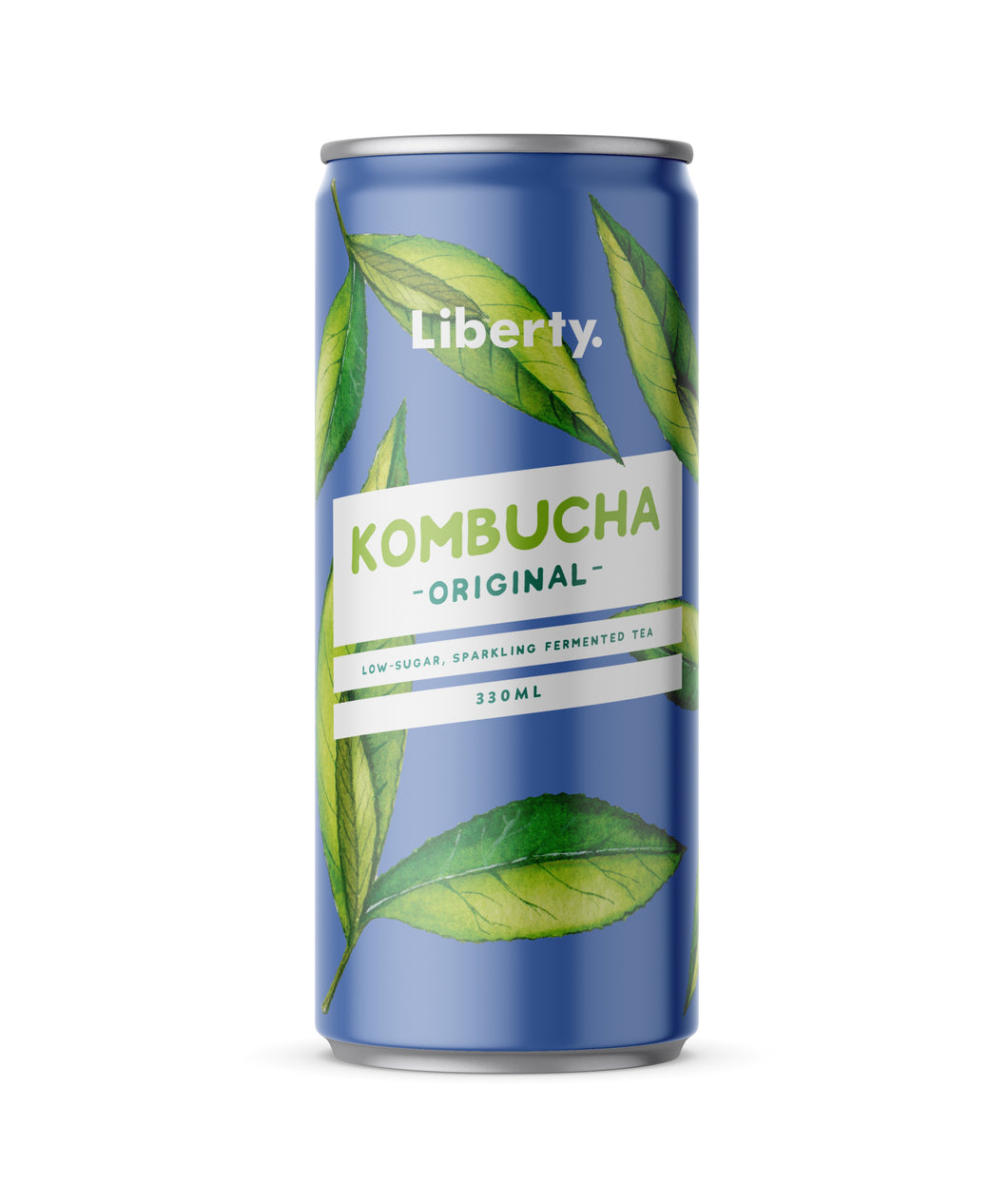 Liberty Kombucha Original Case (12 x 330ml cans)