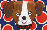 dot dog imagination mat