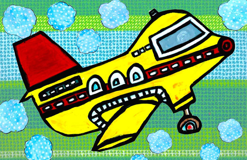 jet set - kids placemats, activity mats for kids, tabletop for kids,original kids birthday presents,
