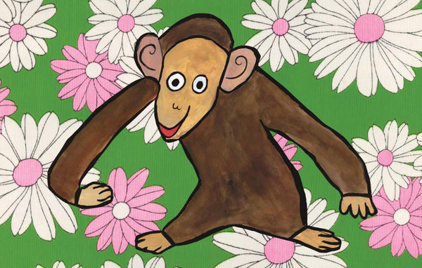 monkey daisy imagination mat