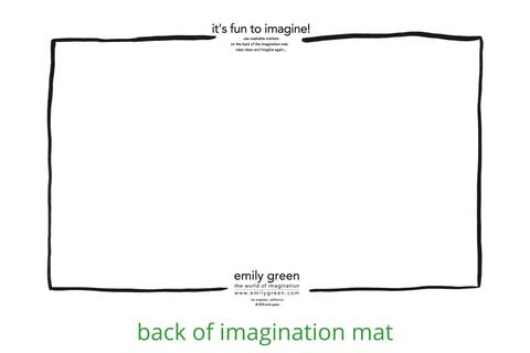 it's so yummy imagination mat