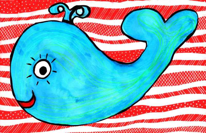 whale of a time - kids placemats, activity mats for kids, tabletop for kids,original kids birthday presents,