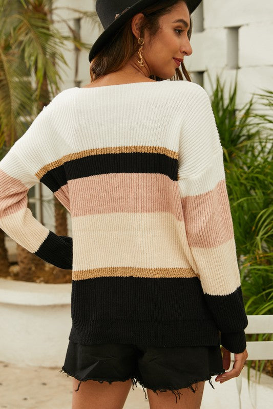 Piper Striped Sweater