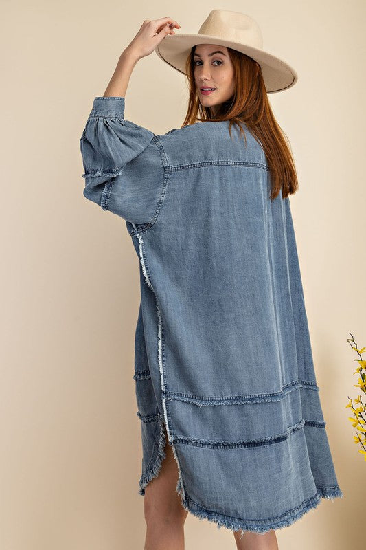 Thea Denim Dress