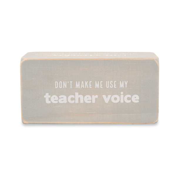 Red Pen Teacher Sentiment Block