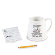 Teacher Pencil Mug Set