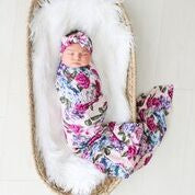 Posh Peanut Infant Swaddle and Headband Set