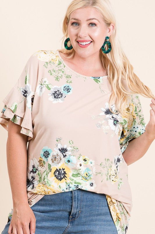 Falling for Floral Top