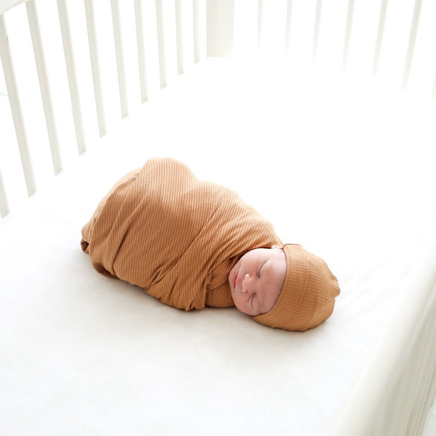 Posh Peanut Infant Swaddle and Beanie Set