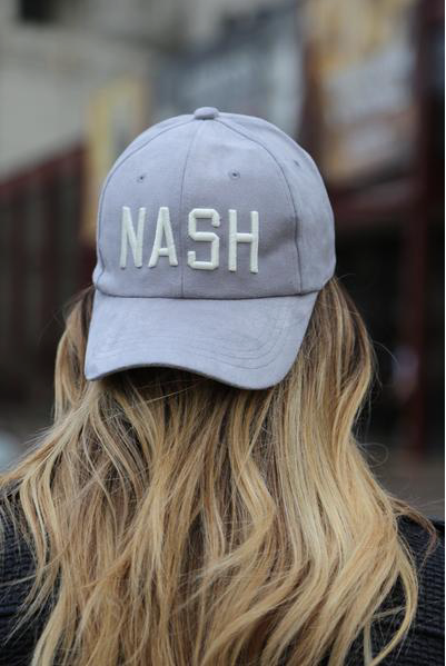 Nash Collection Suede Baseball Cap