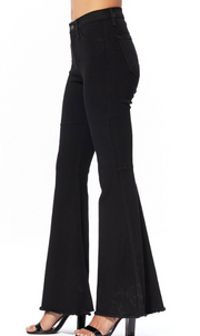 Judy Blue Flare Jeans - Black