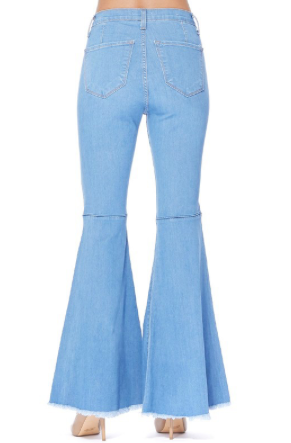 Judy Blue Flare Blue Jeans