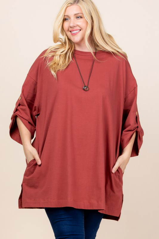Take it or Leaf it Tunic
