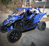 Yamaha YXZ1000r custom Blue Krash Offroad Roll Cage