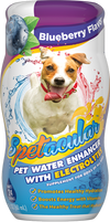 DOG VITAMIN WATER WITH ELECTROLYTES • BLUEBERRY• SINGLE BOTTLE