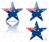 Australia Flag Star Icon