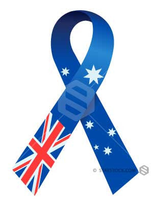 Staystock - Australian Flag Ribbon