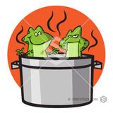 Boiling Frogs In Pot
