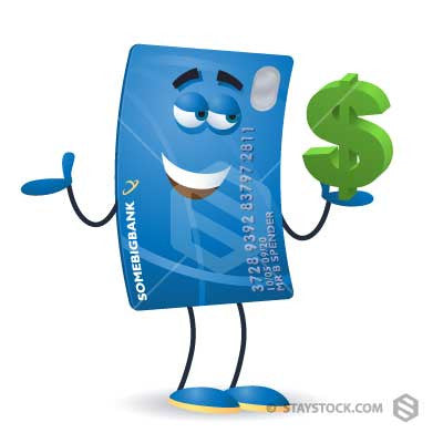 Credit Card Holding Dollar
