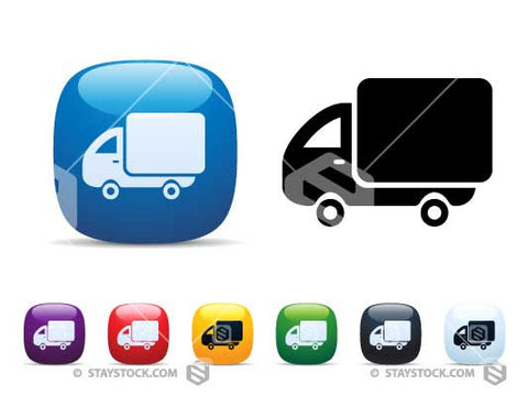 Delivery Truck Icon Set