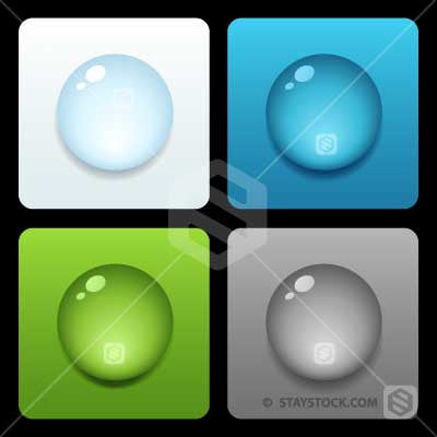 Droplet Icon in four flavours.