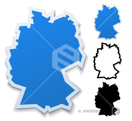 Germany Sticker Map
