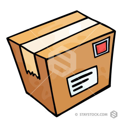 hand drawn box staystock