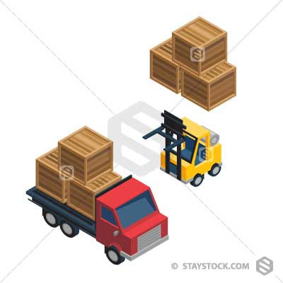 Loading Pick Up Truck