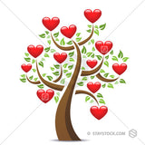 Love Heart Tree