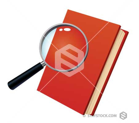 Magnifying Outside Book